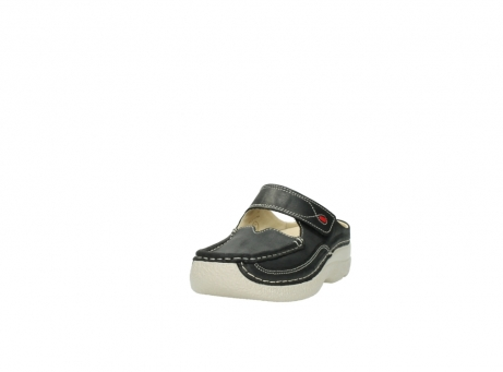 wolky clogs 6227 roll slipper 821 anthrazit leder_21