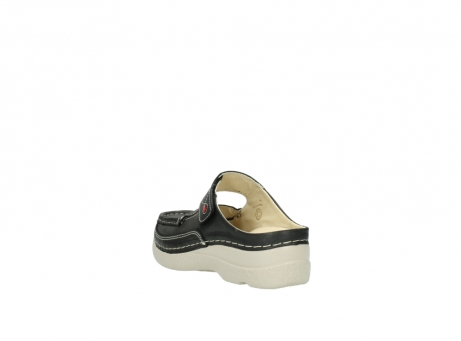 wolky clogs 6227 roll slipper 821 anthrazit leder_5