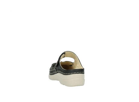 wolky clogs 6227 roll slipper 821 anthrazit leder_6
