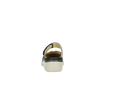 wolky clogs 6227 roll slipper 821 anthrazit leder_7