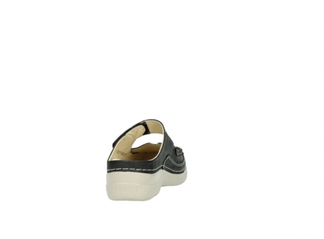 wolky clogs 6227 roll slipper 821 anthrazit leder_8