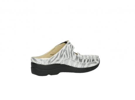 wolky clogs 6227 roll slipper 912 zebra print metallic leder_11