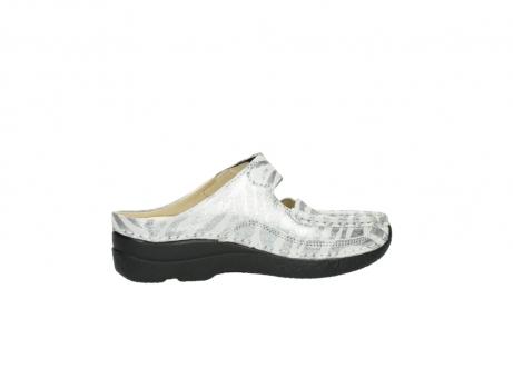 wolky clogs 6227 roll slipper 912 zebra print metallic leder_12