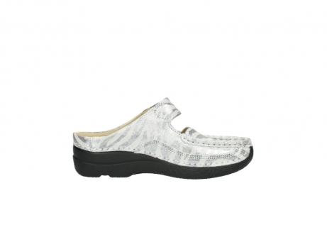 wolky clogs 6227 roll slipper 912 zebra print metallic leder_13