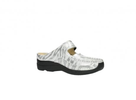 wolky clogs 6227 roll slipper 912 zebra print metallic leder_15