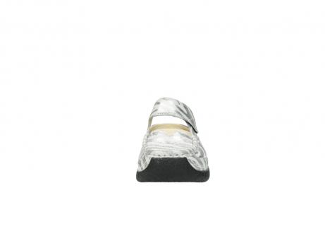 wolky clogs 6227 roll slipper 912 zebra print metallic leder_19