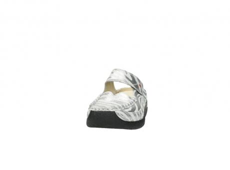 wolky clogs 6227 roll slipper 912 zebra print metallic leder_20