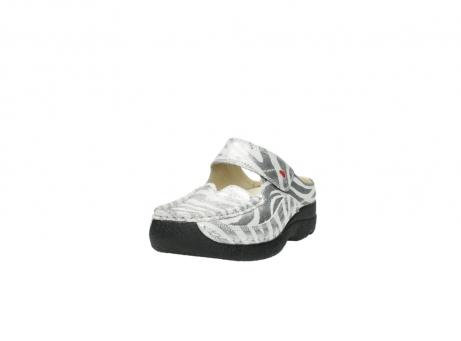 wolky clogs 6227 roll slipper 912 zebra print metallic leder_21