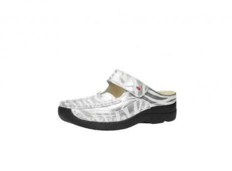 wolky clogs 6227 roll slipper 912 zebra print metallic leder_23