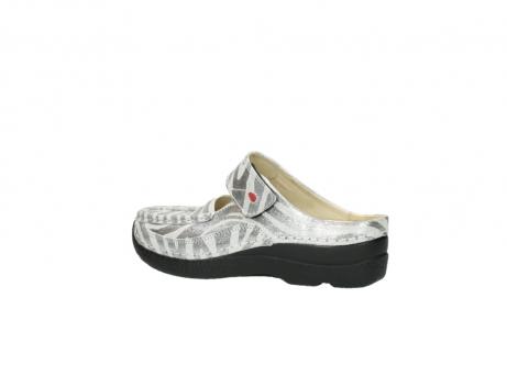 wolky clogs 6227 roll slipper 912 zebra print metallic leder_3