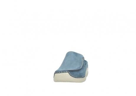 wolky klompen 6250 seamy slide 182 denim blauw nubuck_20