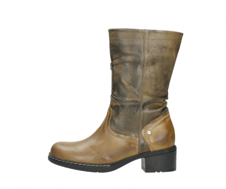 wolky mid calf boots 01261 edmonton 39920 ocher yellow leather_1