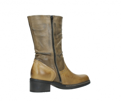 wolky mid calf boots 01261 edmonton 39920 ocher yellow leather_11