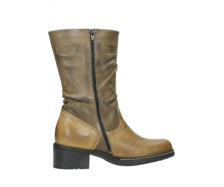 wolky mid calf boots 01261 edmonton 39920 ocher yellow leather_12