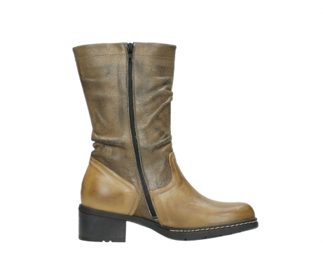 wolky mid calf boots 01261 edmonton 39920 ocher yellow leather_13