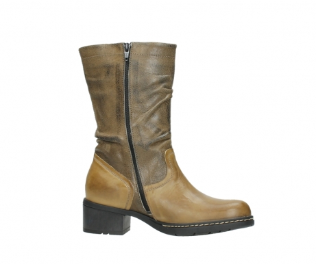 wolky mid calf boots 01261 edmonton 39920 ocher yellow leather_14