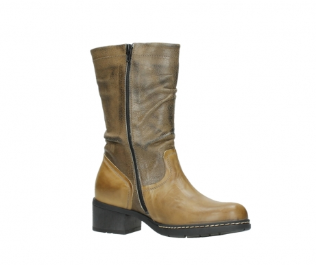 wolky mid calf boots 01261 edmonton 39920 ocher yellow leather_15