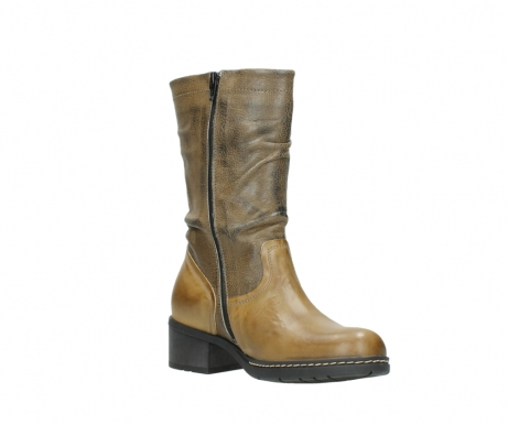 wolky mid calf boots 01261 edmonton 39920 ocher yellow leather_16