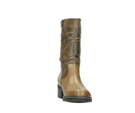 wolky mid calf boots 01261 edmonton 39920 ocher yellow leather_18