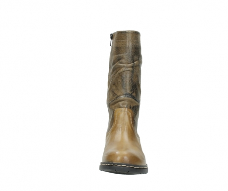wolky mid calf boots 01261 edmonton 39920 ocher yellow leather_19