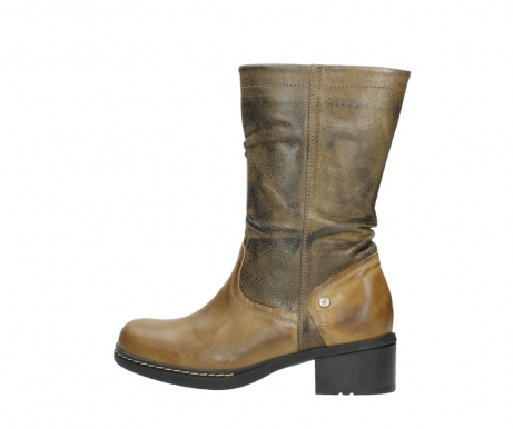 wolky mid calf boots 01261 edmonton 39920 ocher yellow leather_2
