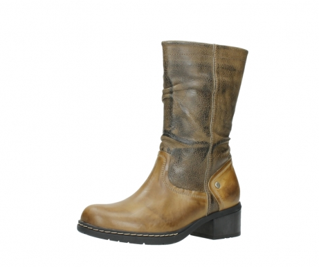 wolky mid calf boots 01261 edmonton 39920 ocher yellow leather_23