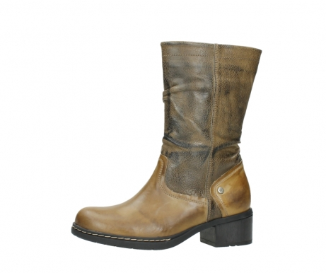 wolky mid calf boots 01261 edmonton 39920 ocher yellow leather_24