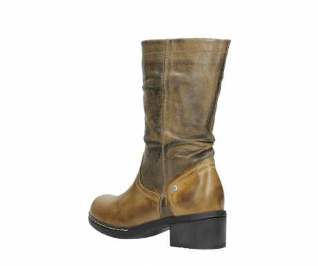 wolky mid calf boots 01261 edmonton 39920 ocher yellow leather_4