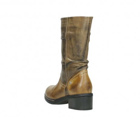 wolky mid calf boots 01261 edmonton 39920 ocher yellow leather_5