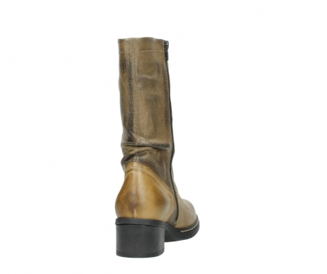 wolky mid calf boots 01261 edmonton 39920 ocher yellow leather_8