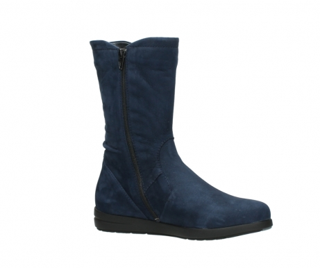 wolky mid calf boots 02424 newton 13800 blue nubuckleather_15