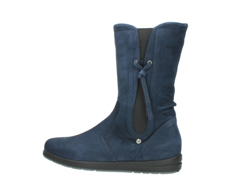 wolky mid calf boots 02424 newton 13800 blue nubuckleather_2
