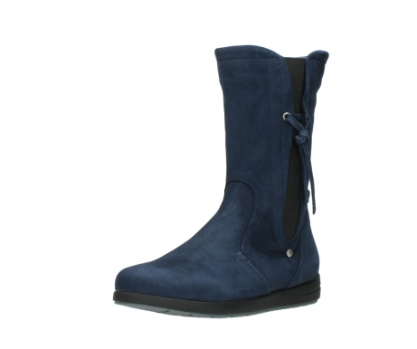 wolky mid calf boots 02424 newton 13800 blue nubuckleather_22