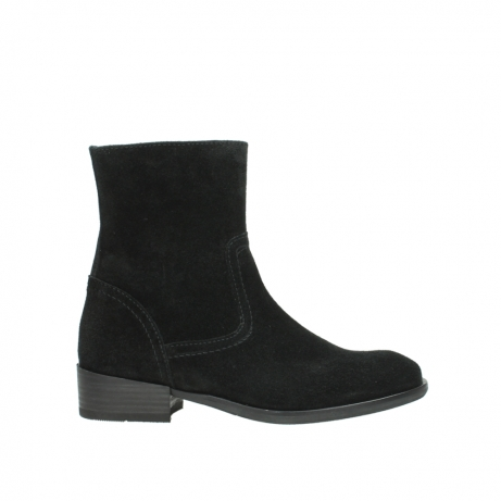 wolky mid calf boots 04515 assam cw 40000 black suede