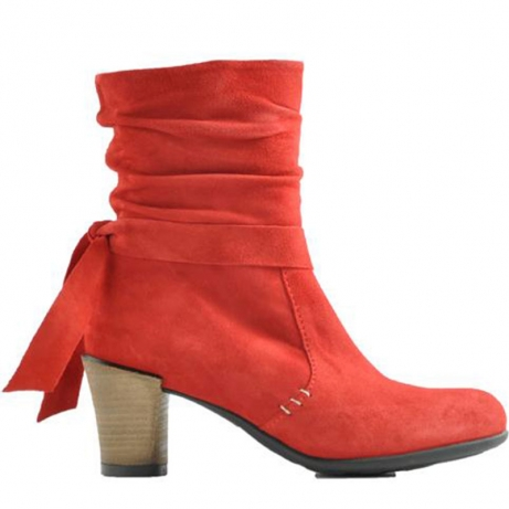 wolky boots 07854 ratio 40500 red suede