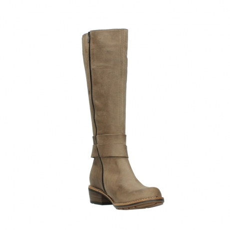 wolky bottes hautes 00527 aras 10150 nubuck taupe_17