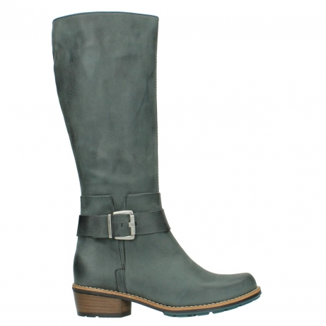 wolky long boots 00527 aras 10220 grey nubuck