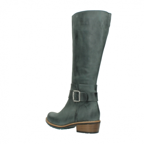 wolky long boots 00527 aras 10220 grey nubuck_4