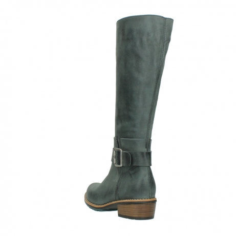 wolky long boots 00527 aras 10220 grey nubuck_5
