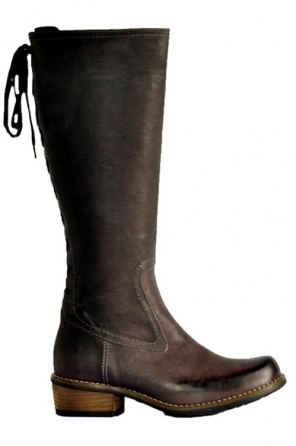 wolky long boots 00552 pardo 80680 aubergine ascot leather