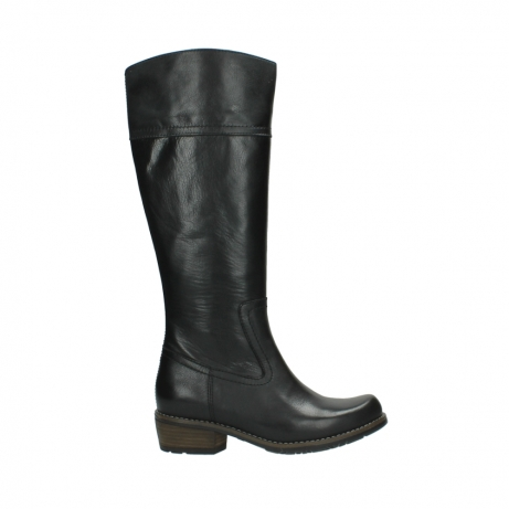 wolky high boots 00553 tinto 30000 black leather