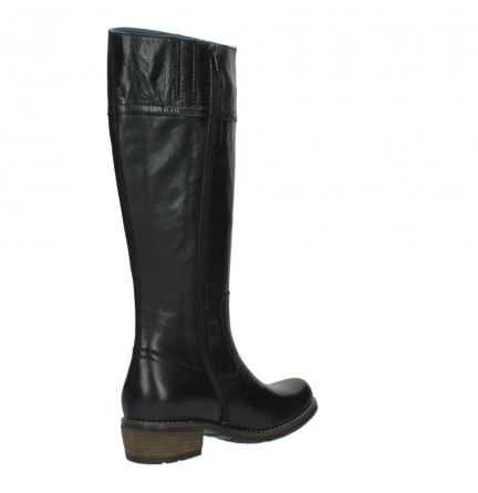 wolky high boots 00553 tinto 30000 black leather_10