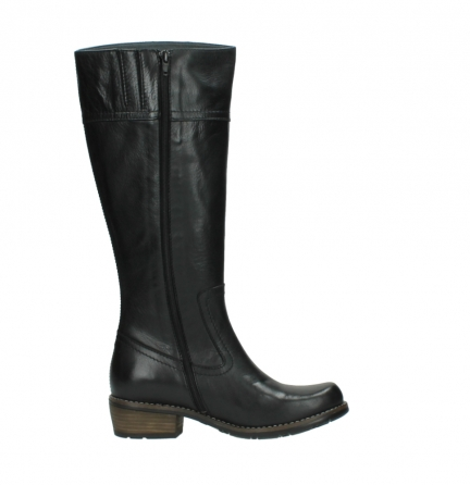 wolky high boots 00553 tinto 30000 black leather_13