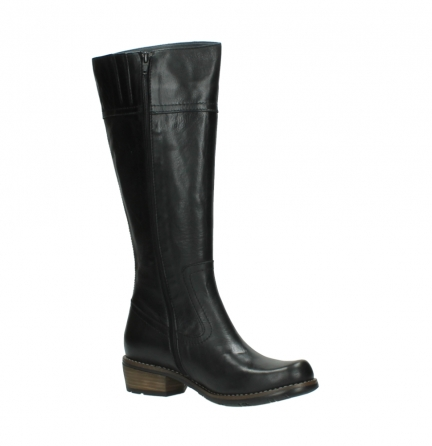 wolky high boots 00553 tinto 30000 black leather_15