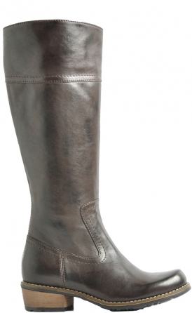 wolky long boots 00553 tinto 30300 brown leather