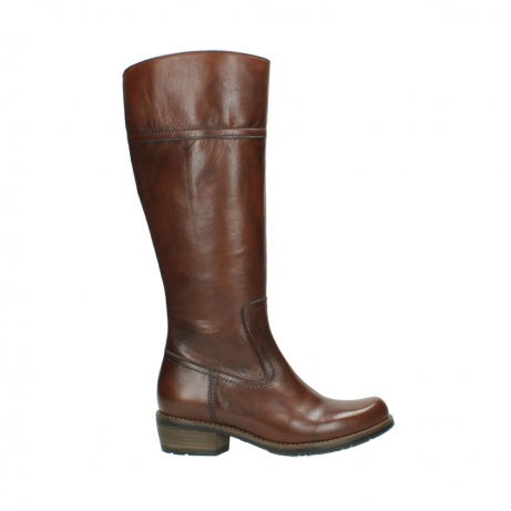 wolky hohe stiefel 00553 tinto 30430 cognac leder