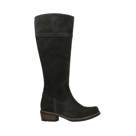 wolky hohe stiefel 00553 tinto 40210 anthrazit