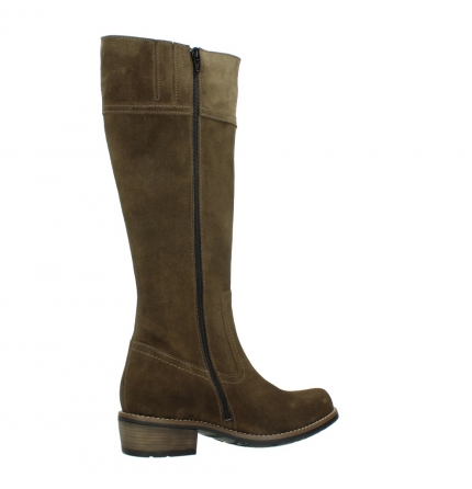 wolky high boots 00553 tinto 40310 mid brown oiled suede_11