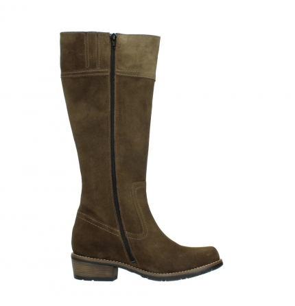wolky high boots 00553 tinto 40310 mid brown oiled suede_13