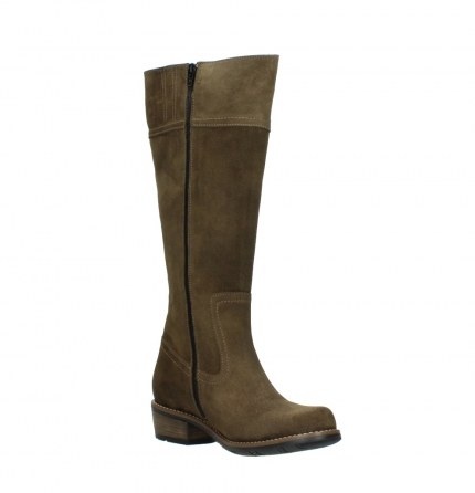 wolky high boots 00553 tinto 40310 mid brown oiled suede_16